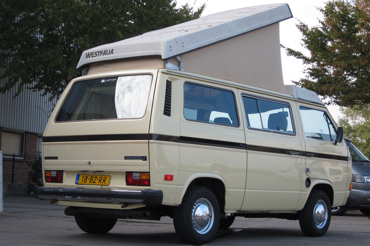 Vw t3 westfalia joker vanagon poptop campers for Interieur westfalia t3