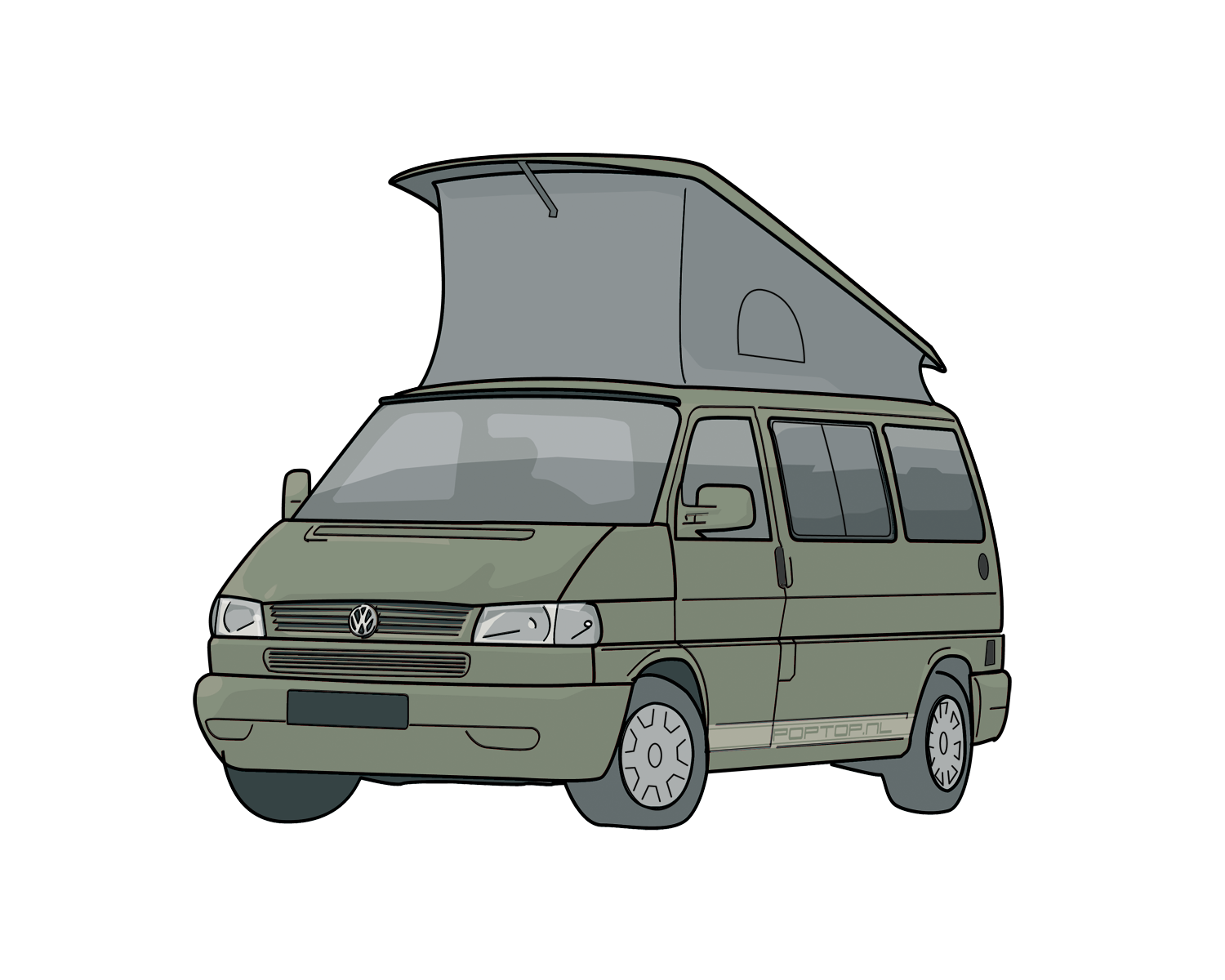vw t4 california 3e generatie poptop campers. Black Bedroom Furniture Sets. Home Design Ideas