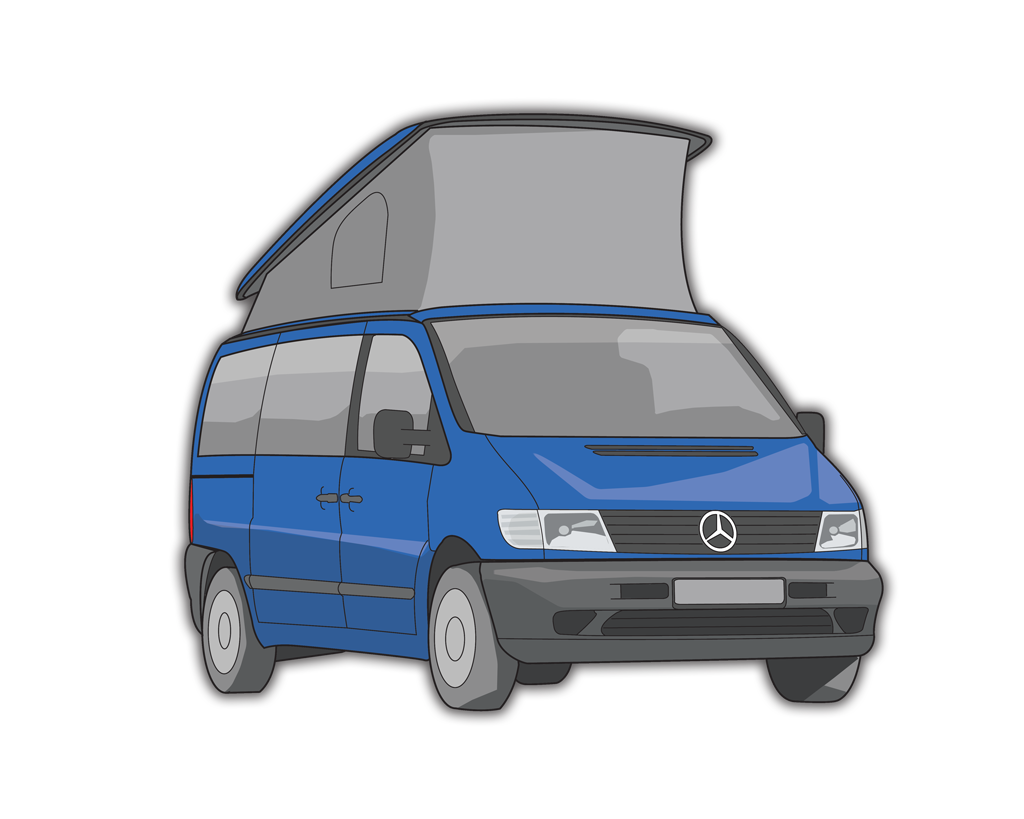 mercedes vito marco polo poptop campers. Black Bedroom Furniture Sets. Home Design Ideas