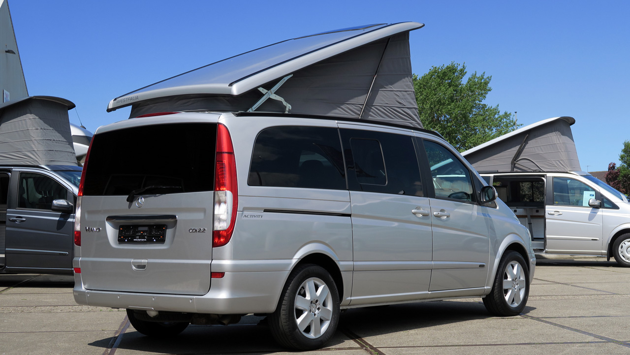 mercedes viano marco polo poptop campers. Black Bedroom Furniture Sets. Home Design Ideas