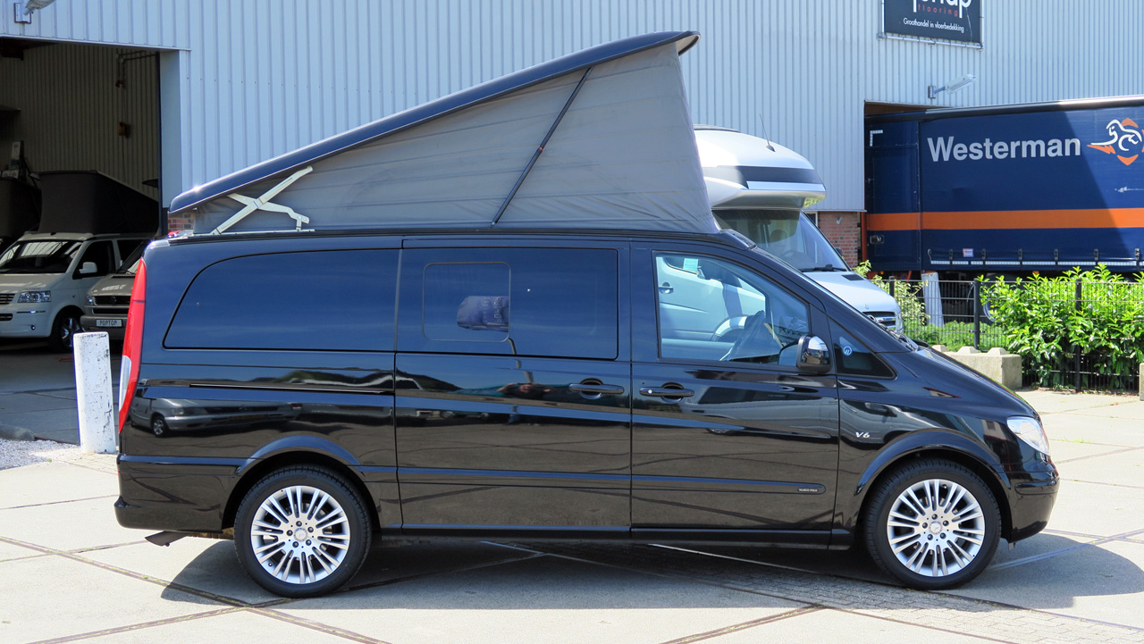 mercedes viano marco polo v6 cdi poptop campers. Black Bedroom Furniture Sets. Home Design Ideas