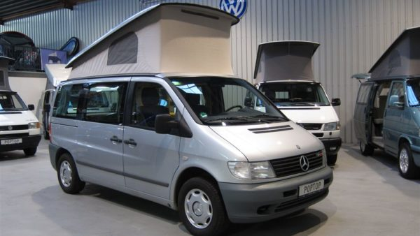 Mercedes Vito Marco Polo Poptop Campers