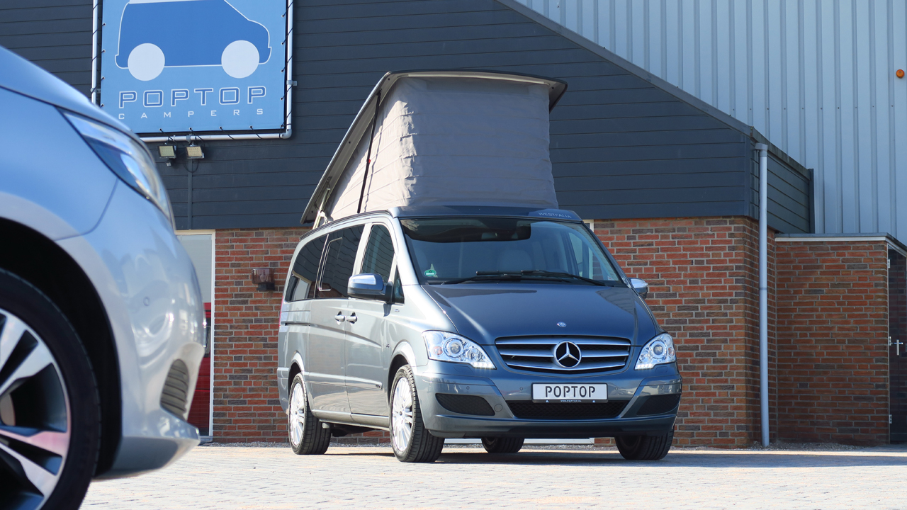 outlet on sale info for lower price with Mercedes Westfalia Viano Marco Polo V6 - Poptop Campers