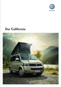 Brochure Brochure VW T5 California GP 2010 (D)