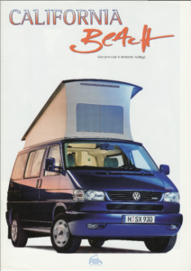 Brochure Brochure VW T4 California Beach 1998 (D)