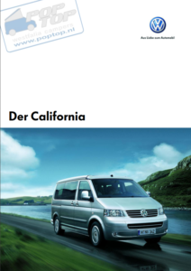 Brochure Brochure VW T5 California 2007 (D)
