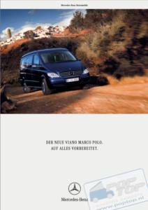 Brochure Brochure Viano Marco Polo I 2004 (D)