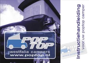 Brochure Poptop Instructieboekje voor de California T4 (NL)