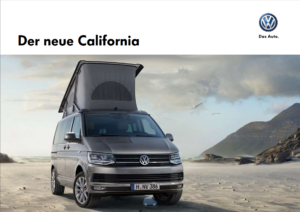 Brochure Brochure VW California T6 2015 (D)