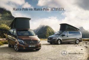 Brochure Brochure Mercedes V-Klasse Marco Polo (NL)