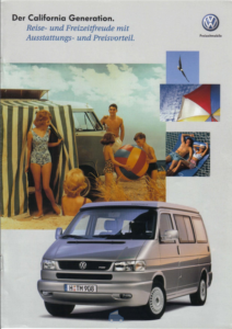 Brochure Brochure VW T4 California Generation 2000 (D)