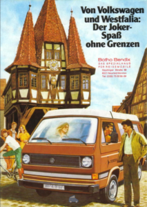 Brochure Brochure VW Westfalia T3 Joker 1980 (D)
