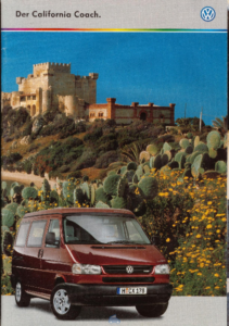 Brochure Brochure VW Westfalia T4 California 2000 (D)