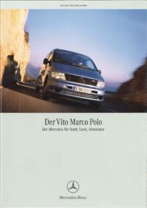 Brochure Brochure Mercedes Vito Marco Polo (D) 1999