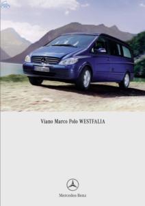 Brochure Brochure Viano Marco Polo I 2007 (D)