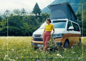 Brochure Volkswagen California T6.1 2020 (D)