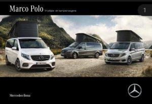 Brochure Brochure Mercedes V-Klasse Marco Polo 2017 (nl)