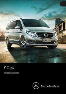 Brochure Handleiding Mercedes V-klasse autodeel 2015 (uk)
