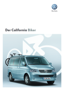 Brochure Brochure VW T5 California Biker 2008 (D)